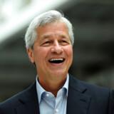 JP Morgans topchef, Jamie Dimon, kalder USAs store indkomstforskel for et problem. Men mener alligevel ikke, at hans løn på 31 mio. dollar er for høj. Arkivfoto: Dylan Martinez/Reuters/Ritzau Scanpix