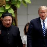 Tidligere vicepræsident Joe Biden har tidligere været kritisk over for præsident Donald Trumps tilnærmelse til Nordkoreas leder, Kim Jong-un. Nu beskylder Nordkorea Joe Biden for at være stærkt dement. Leah Millis/Reuters