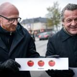 Mads Brügger og Jakob Kvist.