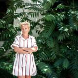 Arkivfoto. Portræt af Ane Cortzen. Hun er vært på programmet »Danmarks bedste portrætmaler«.
