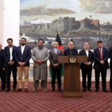 Afghanistans præsident, Ashraf Ghani, fortalte tirsdag for en uge siden, at en fangeudveksling var på trapperne. Siden da har udvekslingen dog trukket ud. - Foto: Afghan Presidential Palace/Reuters