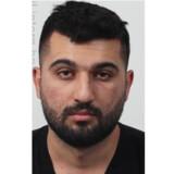 Hemin Dilshad Saleh efterlyses efter en befrielsesaktion på en psykiatrisk afdeling i Slagelse. Sydsjællands og Lolland-Falsters Politi/Free