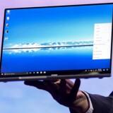 Huawei producerer egne bærbare PCer, Matebook, som bruger Microsofts styresystem Windows. Arkivfoto: Josep Lago, AFP/Ritzau Scanpix