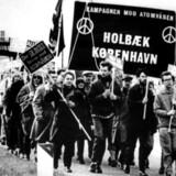 Atommarchen mellem Holbæk og København, 1960.