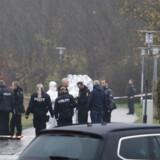 Politiindsats ved Brøndby Strand, lørdag den 16. november 2019. En person er lørdag morgen fundet død i Brøndby Strand, og politiet betegner dødsfaldet som mistænkeligt. Et område ved et stisystem er blevet afspærret, mens undersøgelserne foregår, bekræfter politiet. (Foto: Presse-fotos.dk/Scanpix 2019)