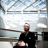 Koncernchef i Tryg, Morten Hübbe, mener, at der bør indføres lovpligtige cyberforsikringer. Arkivfoto: Dennis Lehmann/Ritzau Scanpix
