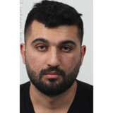En 20-årig mand er blevet varetægtsfængslet for at hjælpe bandemedlemmet Hemin Dilshad Saleh (billedet) med at flygte fra psykiatrisk afdeling i Slagelse, hvor han sad varetægtsfængslet. Politi.dk/Ritzau Scanpix