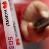 USA lægger pres på Canada for at få forbudt brugen af Huaweis mobilteknologi i de nye 5G-net. Arkivfoto: Jason Lee, Reuters/Ritzau Scanpix
