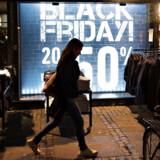 Danskerne har holdt godt på pengene forud for årets store Black Friday-udsalg.