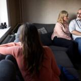 Pernille, Michael og datteren Rebecca fortalte i weekenden deres historie om antisemitisme og trusler i den lokale skole og på privatadressen.