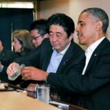 Sukiyabashi Jiros omdømme nåede nye højder, da Barack Obama i 2014 besøgte restauranten sammen med den japanske premierminister, Shinzo Abe.