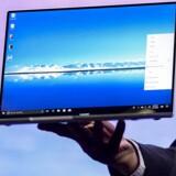 De ultrabærbare PCer sælger, trods de højere priser, bedre og bedre men kan ikke opveje den generelle nedgang i PC-salget. Arkivfoto: Josep Lago, AFP/Ritzau Scanpix