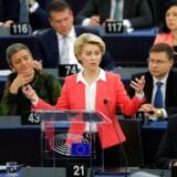 EU-kommissionen godkendt af parlamentet. d. 27 november.