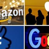Et EU-forslag om at tvinge giganter som Amazon, Apple, Facebook og Google til at offentliggøre indtægter og skattetal blev blokeret af 12 lande. Arkivfoto: Reuters/Ritzau Scanpix