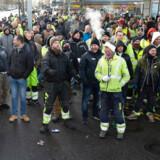 På overfladen handlede demonstrationen på Ydre Nørrebro om social dumping og arbejdsforhold, men et voldeligt overfald søndag aften lader til at have spillet en væsentlig rolle i konfliktens optrapning.