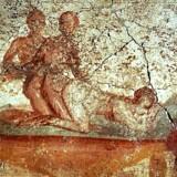 Ovid anbefaler gode samlejestillinger, og hvis flere latinlærere underviste i »Ovids Elskovskunst«, ville deres elevers interesse nok blomstre op. Billedet er fra Pompeii.