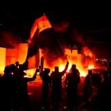 »En befolkning på 80 millioner mennesker har været undertrykt i en hel generation og nu kæmpes der, også i Irak, mod det iranske præstestyre.«