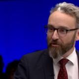 Torsdag aften var Liberal Alliances Ole Birk Olesen gæst i »Debatten« på DR, og pludselig gik bølgerne højt. Foto: DR