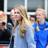Prinsesse Catharina-Amalia har sin daglige skolegang på Christelijk Gymnasium Sorghvliet i Haag. (Arkivfoto) Piroschka Van De Wouw/Reuters