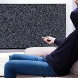 Sort skærm rammer om blot fire dage som følge af et nyt, kæmpe TV-slagsmål. Arkivfoto: Iris/Ritzau Scanpix
