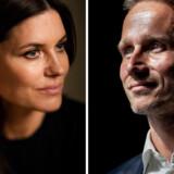 Pernille Rosendahl og Kristian Jensen.