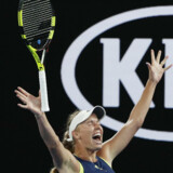 Fredag offentliggjorde Caroline Wozniacki, at hun stopper karrieren efter Australian Open i januar. (arkivfoto) Edgar Su/Reuters