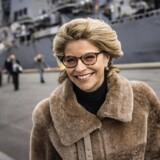 »Kløften mellem Sloan og Sands er et billede på den polarisering, som præger USA i Trump-æraen.« På billedet: Den amerikanske ambassadør i Danmark, Carla Sands, besøger krigsskibet USS Porter, som ligger ved kaj i Nordhavnen i København.