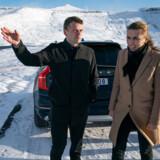 Statsminister Mette Frederiksen (S) og Færøernes Lagmand Bárður á Steig Nielsen mødtes 7. november ved vindmøllerne på fjeldet ved Vestmanna, da statsministeren besøgte Færøerne. Iagttagere efterlyser lederskab fra den danske regering i forhold til den kinesiske ambassadørs forsøg på at presse Færøerne, der er en del af Rigsfællesskabet, til at indgå en aftale med den kinesiske telegigant Huawei.