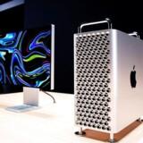 Sådan ser den ud, Apples nye Mac Pro. Og hvis man virkelig vil give den hestekræfter, lader det sig gøre – blot man betaler prisen.