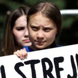 Arkivfoto: Den 16-årige svenske klimaaktivist Greta Thunberg er kåret som Årets Person i 2019 af det amerikanske nyhedsmagasin Time.
