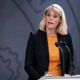 Arkivfoto: Forsvarsminister Trine Bramsen (S) har skældt ud på sit eget embedsværk, fordi hun ikke langt tidligere blev orienteret om mulig millionsvindel i Forsvarsministeriets Ejendomsstyrelse.