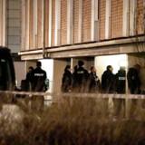 Politiaktion i Gersagerparken i Greve onsdag d. 11. december 2019