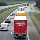 ARKIVFOTO: Med vejpakken vil chauffører fra lavtlønslande ikke længere kunne underbyde danske lønninger, når de kører gods internt i Danmark.