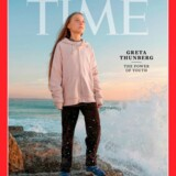 Magasinet Time har udråbt Greta Thunberg til »Person of the Year«.