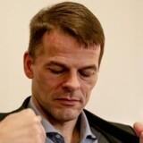 Den færøske lagmand, Bárður Nielsen - afviser, at han er blevet truet eller presset.