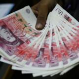 Kursen på britiske pund afspejler finansmarkedernes tro på afklaring og bedre tider. Siden august er pundet steget 13 procent.
