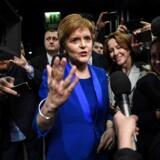 Nicola Sturgeon, partileder for Det Skotske Nationalparti.