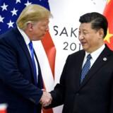 Arkivfoto: Bankerne og Drilling var blandt vinderne fredag, hvor investorerne kunne glæde sig over, at USA og Kina ser ud til at være på vej til at løse de to landes handelskonflikt.