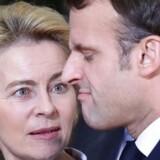 To af de absolutte hovedpersoner på den økonomisk-politiske scene i 2020 bliver EU-Kommissionens formand, Ursula von der Leyen, og den franske præsident, Emmanuel Macron. De skal sørge for Europas relevans i den globale økonomi.