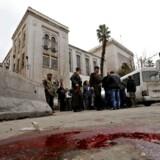 En selvmordsbomber udløste i 2017 et blodbad nær den gamle by i Damaskus. I dag er der ikke længere en særlig sikkerhedsrisiko i byen, vurderer de danske myndigheder.