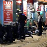 Københavns Politi foretog anholdelser i forbindelse med uroligheder med fyrværkeri på Nørrebro i december.