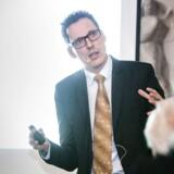 Professor Anders Sørensen fra Institut for Økonomi på Copenhagen Business School (CBS) er medforfatter til en rapport, som belyser, om flere vælger at arbejde som freelancere. Arkivfoto: Sophia Juliane Lydolph/Ritzau Scanpix