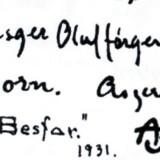 Hvordan gennemskuer lægmand, at Asger Jorn fx også kunne signere et billede med Besfar, ASKA eller Asger O.J.?