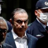 Tidligere topchef i Nissan Carlos Ghosn (foto) er anklaget for skattefusk. (arkivfoto.) Issei Kato/Reuters
