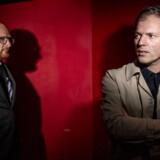 Tidligere programchefer på Radio24syv Mikael Bertelsen og Mads Brügger, er sammen er nomineret til Berlingskes nye Fonsmark-pris.