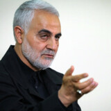 Den nu dræbte generalmajor Qassem Soleimani var øverstkommanderende for Quds-styrkerne, som er særlig enhed af elitesoldater under Irans Revolutionsgarde. (Arkivfoto). Handout/Ritzau Scanpix