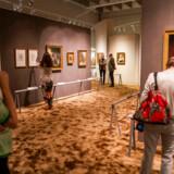 Statens Museum for Kunst (SMK), havde et godt år med 381.153 besøgende målt pr. 15. december. Det var bl.a. museets guldalderudstilling, der blev set af 150.000, der var med til at trække det samlede besøgstal op.