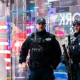 New York forhøjer sikkerhedsberedskab.