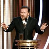 Ricky Gervais gjorde sig umage med at forarge gæsterne til prisfesten Golden Globes, som han var vært for for femte gang.