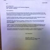 »Jeg ved ikke noget om det brev,« sagde USAs forsvarsminister, Mark Esper, mandag aften dansk tid. Få minutter senere bekræftede Mark Milley, stabschef for USAs væbnede styrker, at brevet var ægte, men det var en fejl, at det blev sendt, lød det.